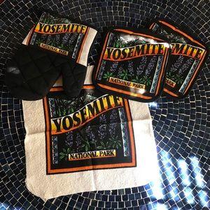 VTG 80s NWOT Yosemite National Park pot holder